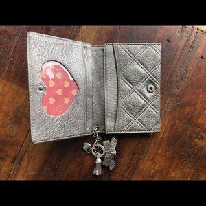 Silver Lovecat card case
